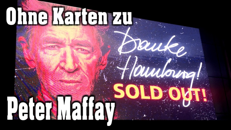 Ohne Karten zum Peter Maffay Konzert