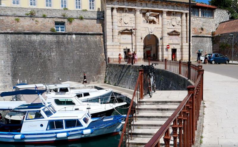 Land-Tor ( Land Gate) Zadar